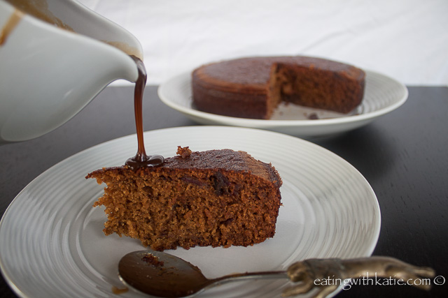sticky date pudding and sauce