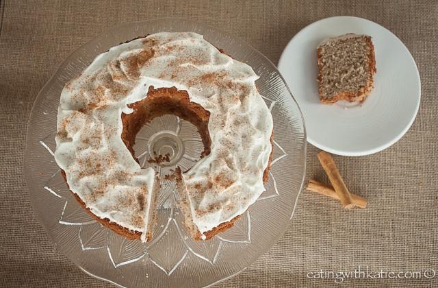 chai chiffon cake & slice