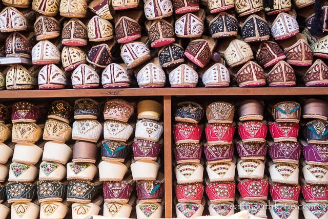 Shoes at Dubai Souq