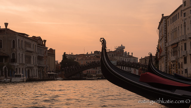 Sunset gondola