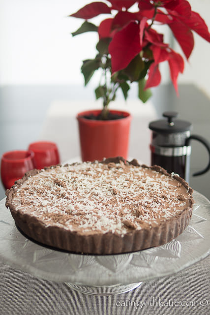 Mocha Cheesecake tart