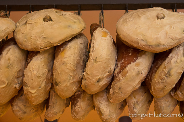 hanging prosciutto {focus_keyword} Sorrento Food Tour prosciuttohanging