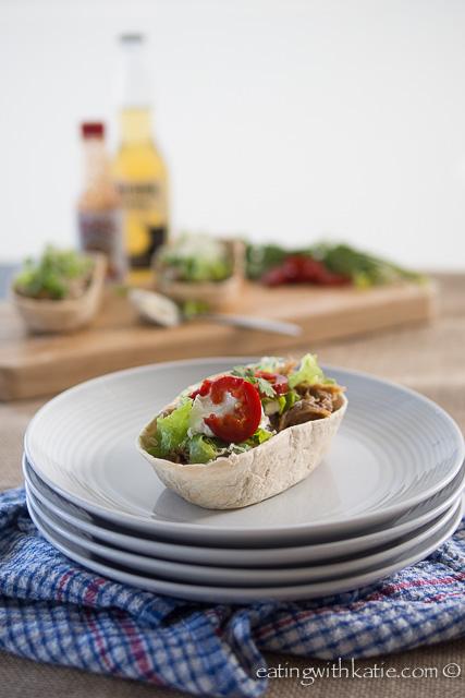slow cooker pulled pork taco