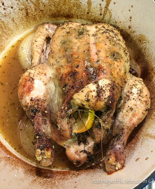 za'atar roast chicken
