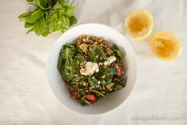 Freekah Salad