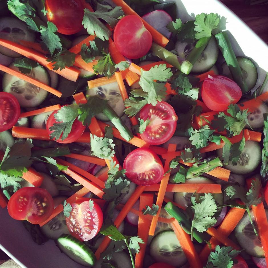 Vietnamese Inspired Summer Salad